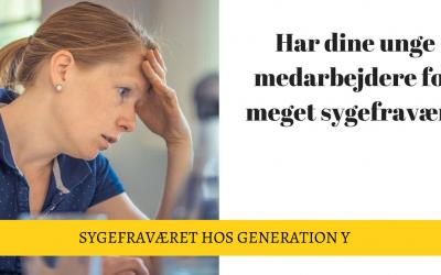 Sygefravær hos Generation Y – Motivation og fastholdelse